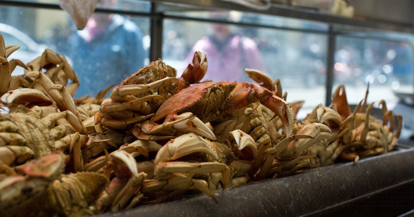 Dungeness Crabs © Fred Benenson/Flickr