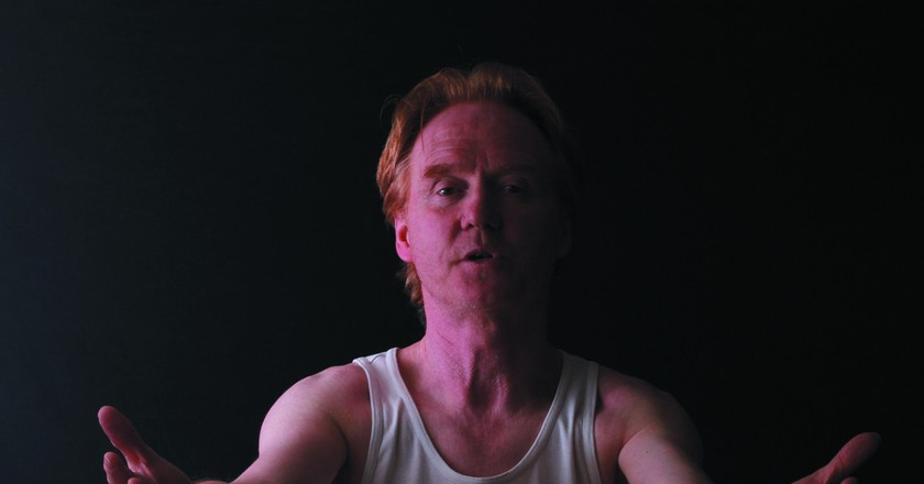 Owen O'Neill in Absolution   Courtesy of Guy Masterson