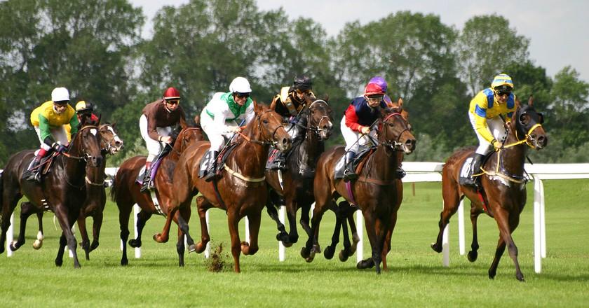 Horse Racing   © Softeis / WikiCommons