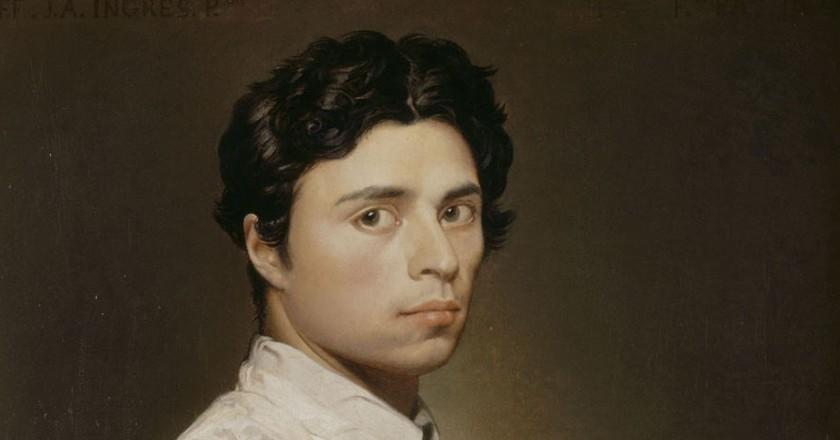 Ingres, Self-Portrait, 1804   © Musée Condé/WiikiCommons