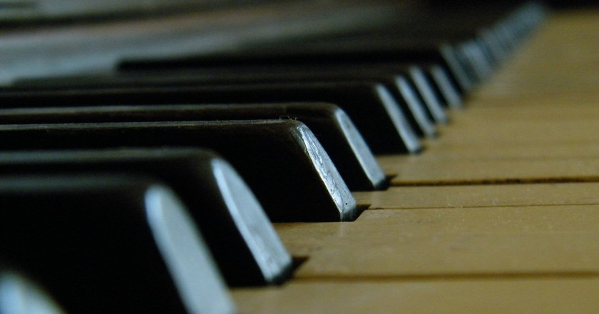 Piano keys © Kavonni Christopher / Flickr