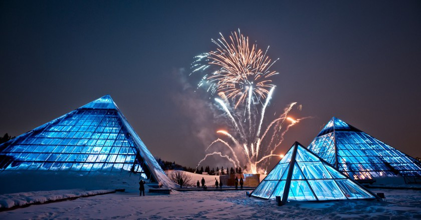 Lunar New Year Fireworks | © City of Edmonton