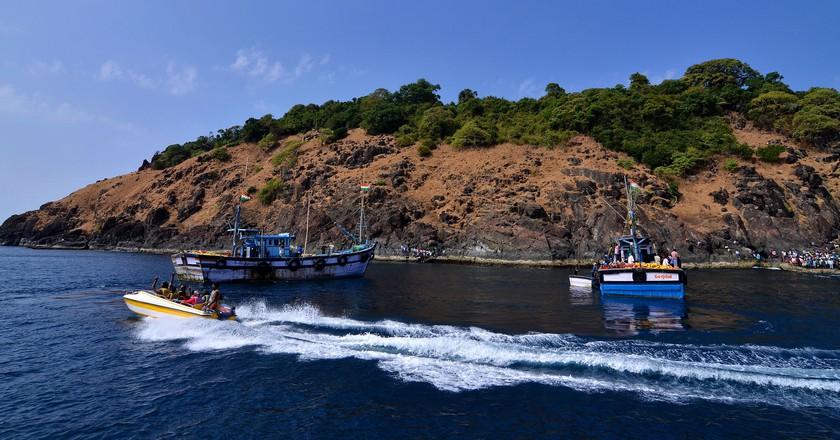 Netrani Island | © Subhas Nayak/WikiCommons