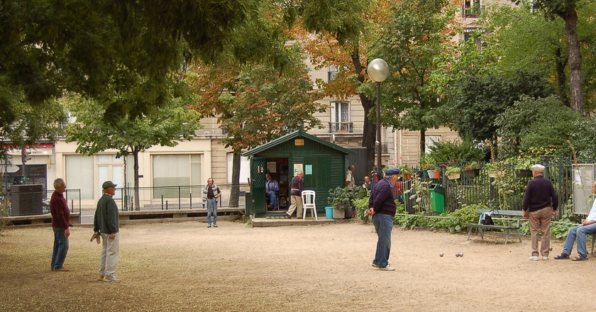 Petanque Batignolles|©KoS/Wikicommons