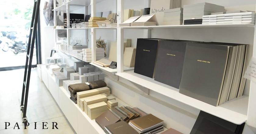 Stocked Shelves | Courtesy of Papier