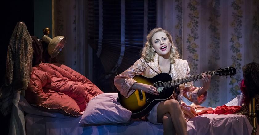 Pixie Lott as Holly Golightly in Breakfast at Tiffany's | Courtesy of Sean Ebsworth Barnes