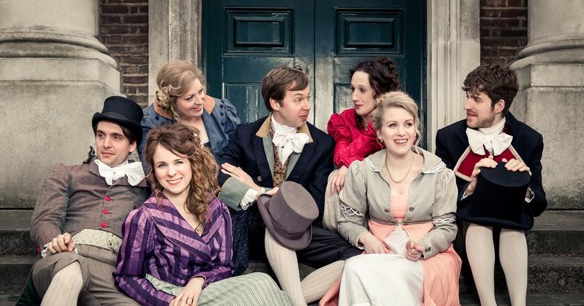 Austentatious Cast   Courtesy of Austentatious