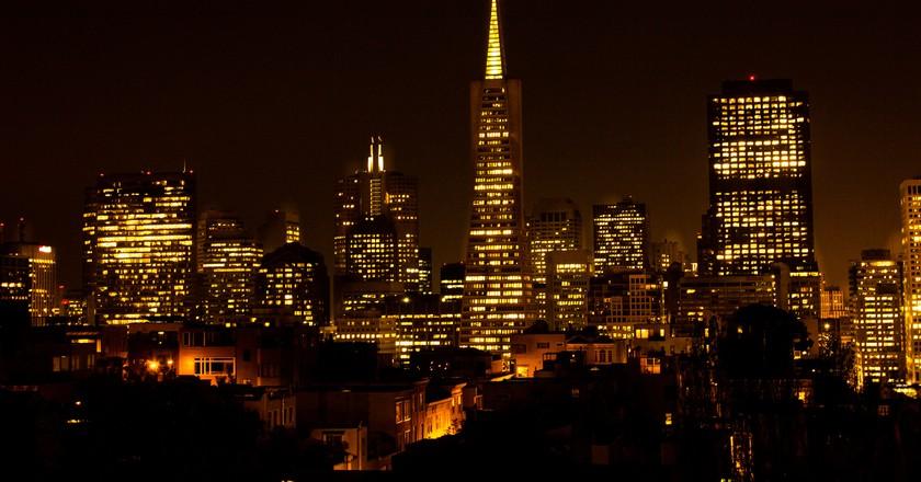 San Francisco At Night © James Daisa/flickr
