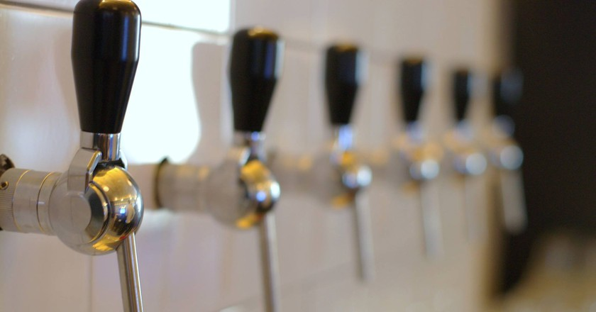 Taps ready to flow  Courtesy Maquila Bar