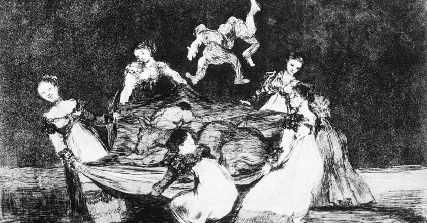 Los disparates by Francisco de Goya | © Public Domain/WikiCommons
