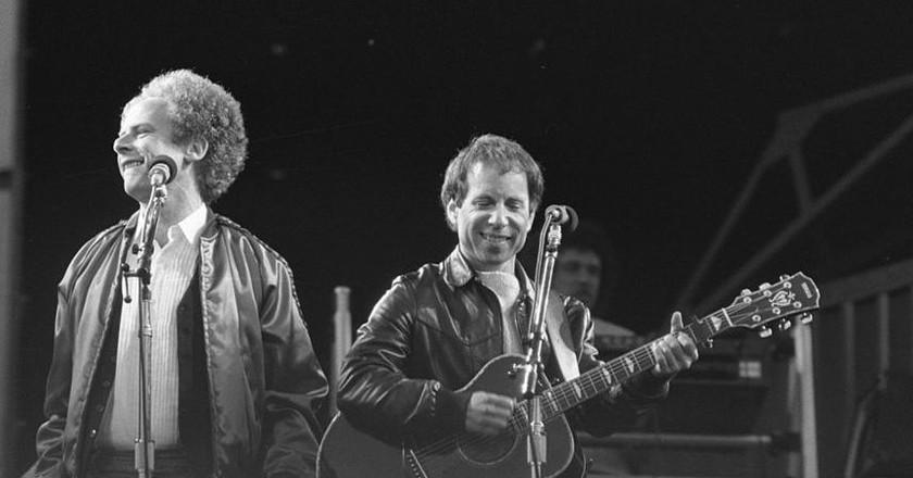 Simon and Garfunkel Netherlands 1982 | © Nationaal Archief/WikiCommons
