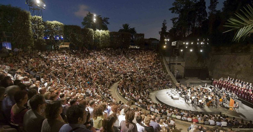 Experience Open-Air Performance At The Grec Festival On Montjuic