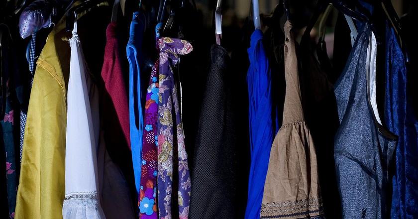 Clothes Rack © Steve Cox/Flickr