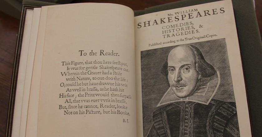 Work of Shakespeare/Flickr