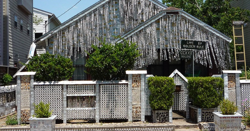 Beer Can House | ©  Clem/Flickr