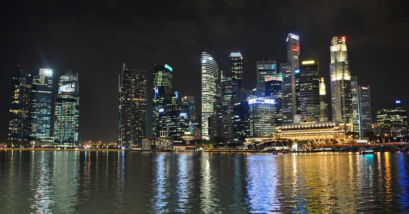 Singapore Marina Bay | ©Leong Him Woh/Flickr