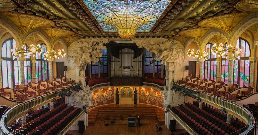 The Palau de la Música Catalana | © Paulo Valdivieso / Flickr