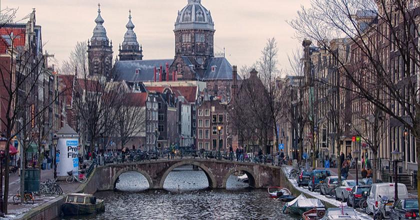 Amsterdam Sunset   © Bert Kaufmann/Flickr
