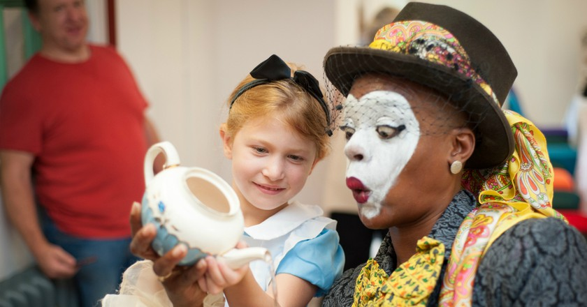 The Story Museum, Alice's Day | © Andrew Walmsley