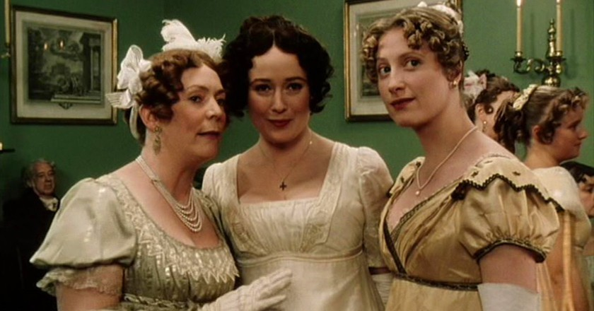 12 things you didnt know about pride and prejudice elizabeth and jane bennet pride and prejudice 1995bbc productions altavistaventures Images