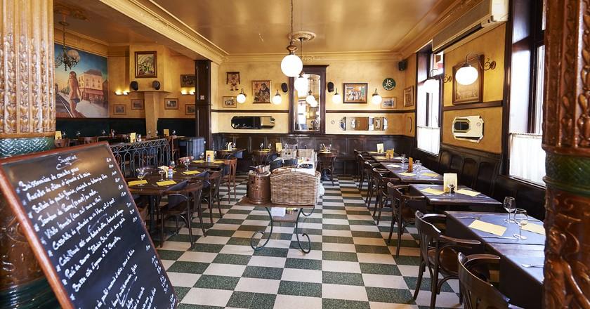 Brasserie de la Gare makes for a pleasant place to repose until your train arrives | Courtesy of Brasserie de la Gare