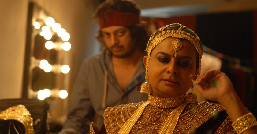 "Rituparno Ghosh as Rudra ""Khokhon"" Chatterjee in Chintrangada
