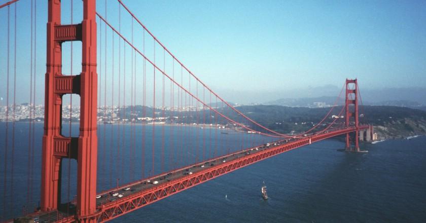 Golden Gate Bridge   © Wikimedia Commons