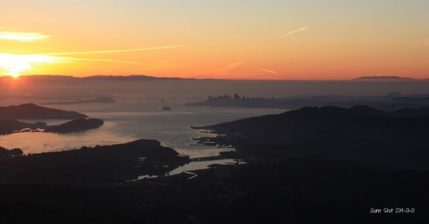 Sunrise from Mount Tamalpais © Mark Gunn/Flickr