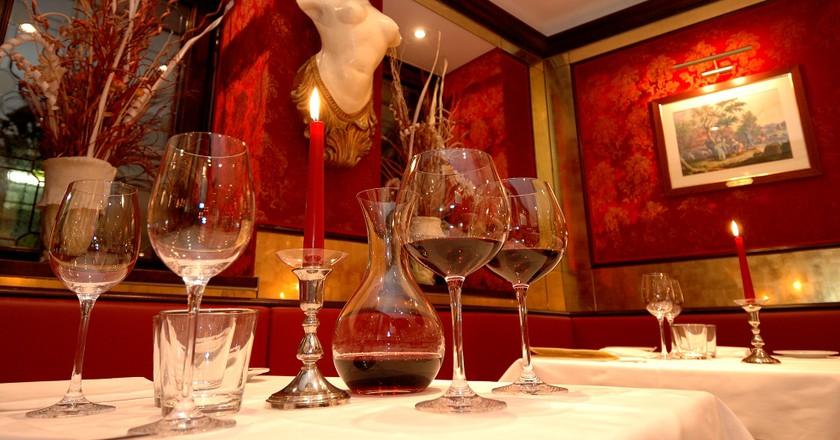 Restaurant's Decoration   Courtesy of Bistrot de Venise