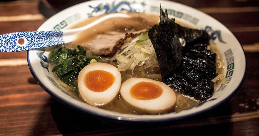 A bowl of ramen © Jonathan Lin/Flickr