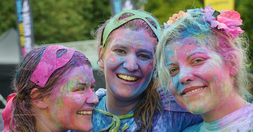 Celebrate Love At The Holi Festival Of Color