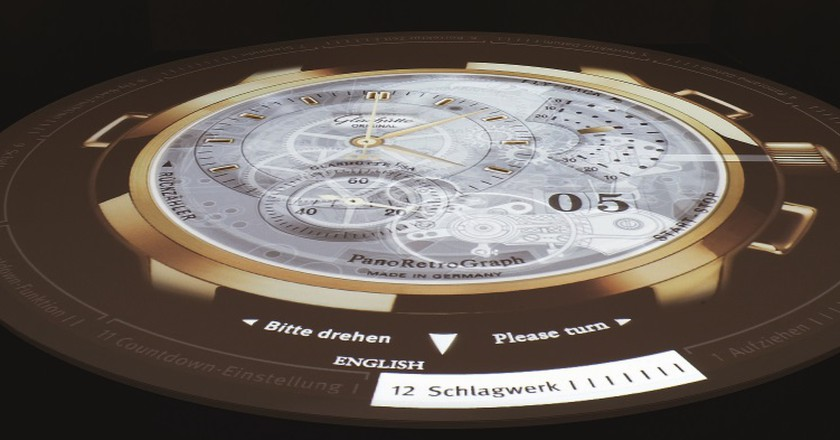 Multimedi Projection German Watch Museum, Glashütte | © Glashütte Original
