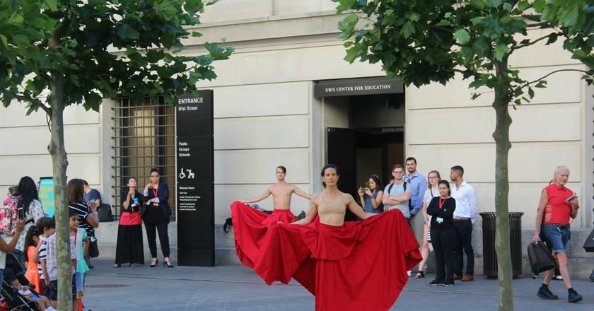 Museum Mile Festival The Dance Begins | © Larryse Brown
