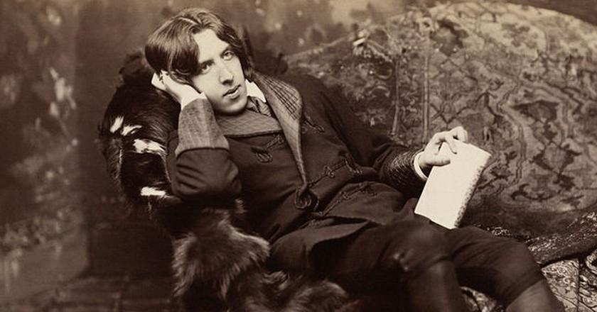 Oscar Wilde in New York in 1882, captured by Napoleon Sarony   © Napoleon Sarony/WikiCommons