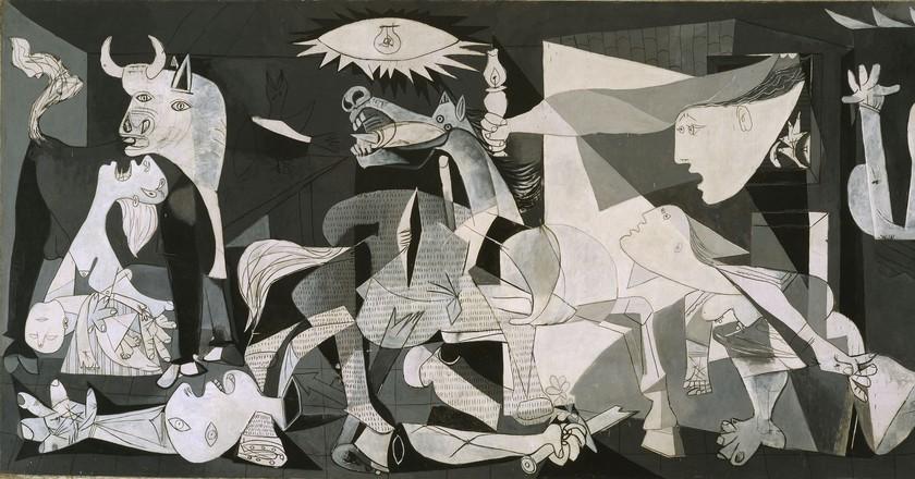 Pablo Picasso, Guernica, 1937 | Photo: Joaquín Cortés/Román Lores. Museo Nacional Centro de Arte Reina Sofia © Sucesión Pablo Picasso. VEGAP. Madrid, 2012