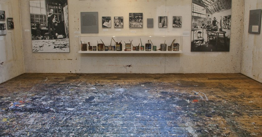 Pollock-Krasner Studio | Image courtesy of Pollock-Krasner House and Study Center