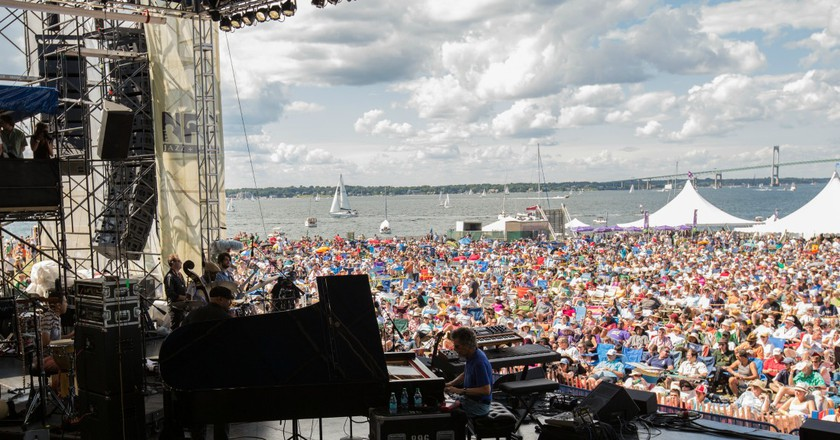 Chick Corea at the 2013 Newport Jazz Festival | © Douglas Mason