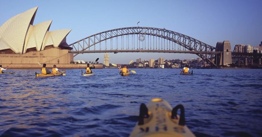 Sydney   Courtesy of Tourism Australia © Garth Oriander