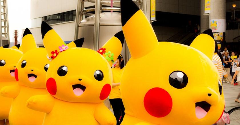 Pikachu parade | © Yoshikazu Takada/Flickr