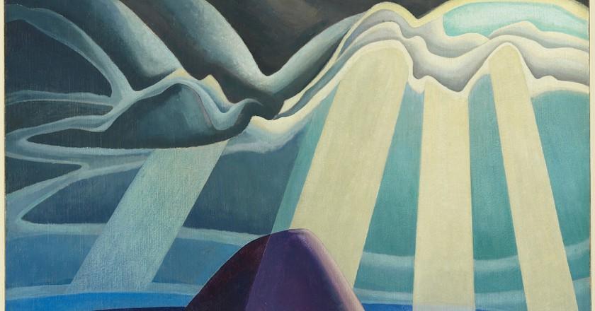 Lawren Harris, 'Lake Superior', 1923, oil on canvas| Courtesy of The AGO