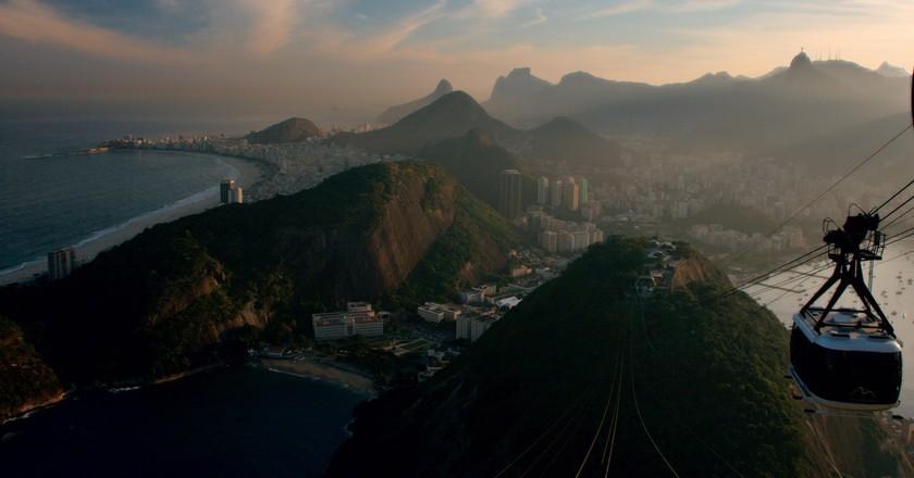 Rio de Janeiro seen from Sugarloaf Mountain ©Christian Haugen