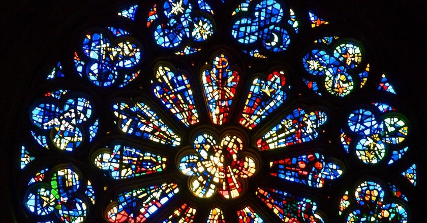 Rose window © wplynn/Flickr