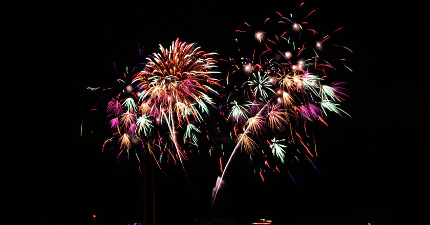 Fireworks from Chicago's Navy Pier | © Frank Malawski/Flickr