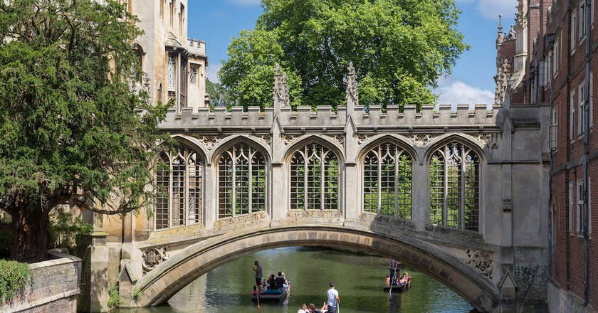 The Bridge of Sighs in St John's College, University of Cambridge  l © DAVID ILIFF/WikiCommons
