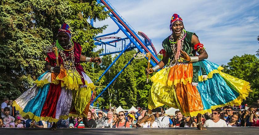 Group OSHALA from Benin in Saint Petersburg | © Ninaras / WikiCommons