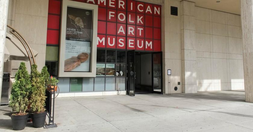 Exterior of the American Folk Art Museum | Courtesy of the American Folk Art Museum | ©