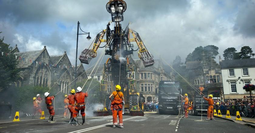 The Man Engine in Tavistock| © Mike Thomas/Excess Energy