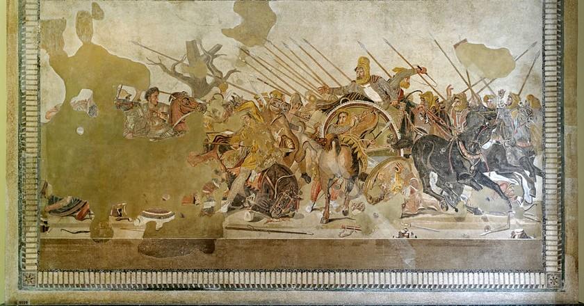 Alexander Mosaic, c. 100 BC   © Berthold Werner/WikiCommons