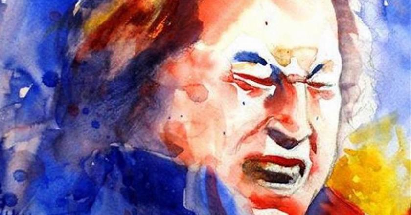 Nusrat Fateh Ali Khan | © Mohsinism/WikiCommons