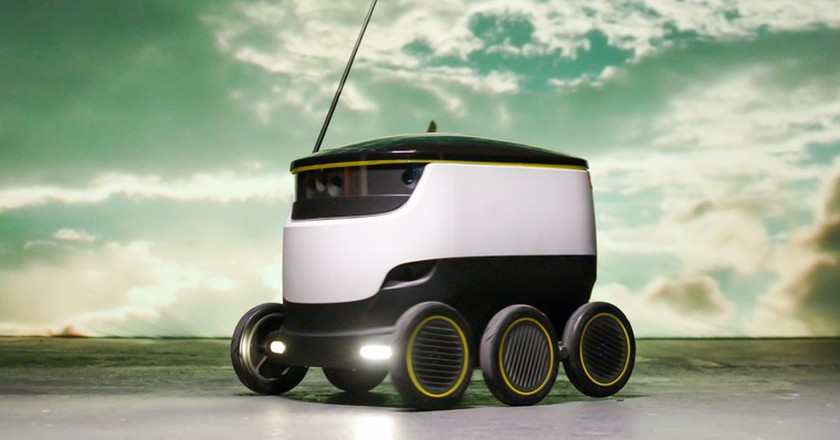 Takeaway App Just Eat Is Introducing Robot Delivery Drivers To London